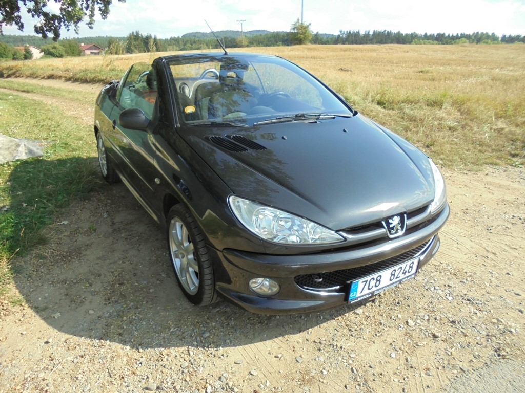Peugeot 206 1.6 HDI CC,80kw,Cabriolet