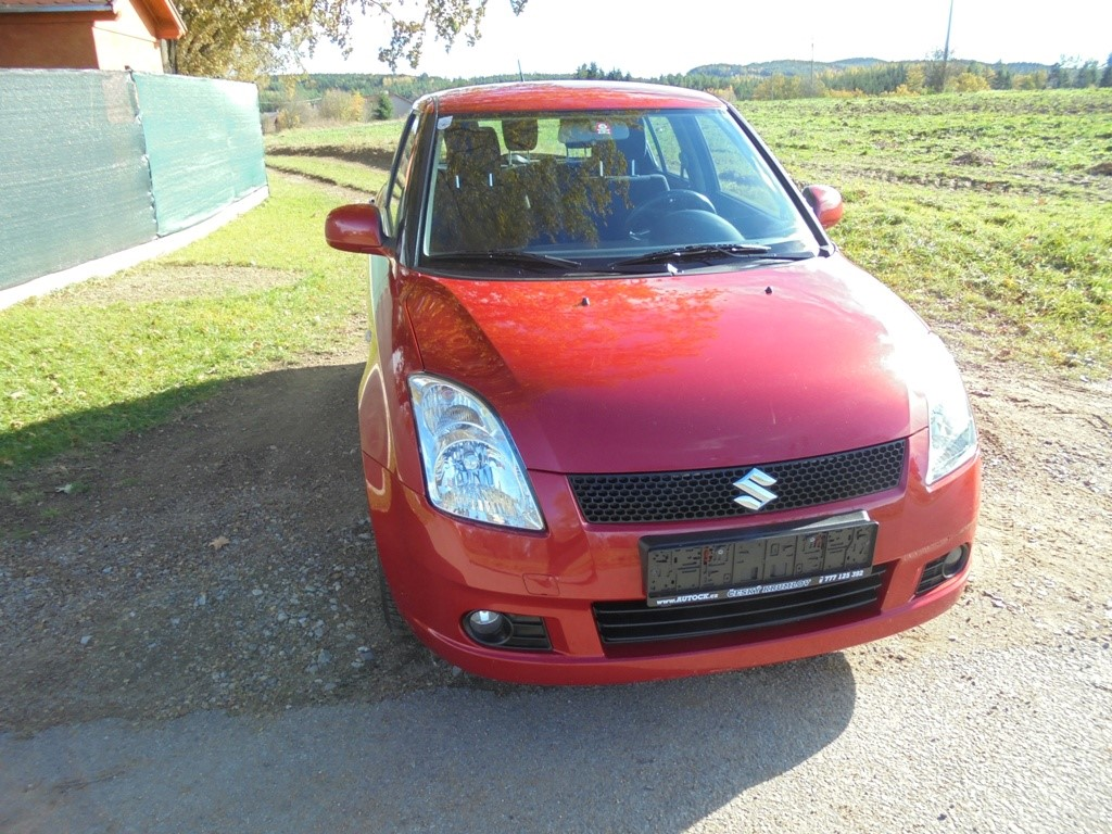 Suzuki Swift 1,3i 67kw 4x4,comfort,top stav !!!